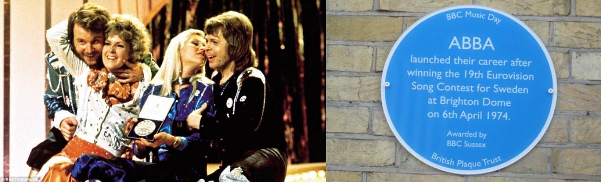 ABBA Honoured With Blue Plaque In Brighton | Swede Dreamz ABBA Tribute Band