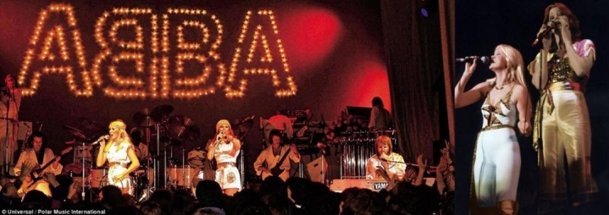 IN FOCUS // Flashback to ABBA's UK Concerts In February 1977 | Swede Dreamz ABBA Tribute Band