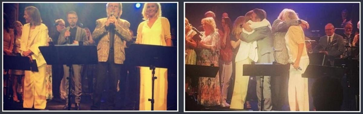 ABBA In Surprise Stockholm Reunion  | Swede Dreamz ABBA Tribute Band