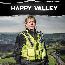 "Filming for BBC's ""Happy Valley"""